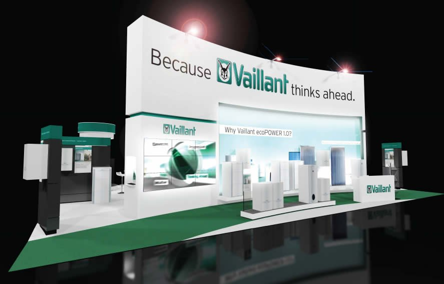 exhibition stand at ecobuild