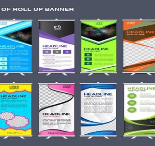 Types of Banner stands