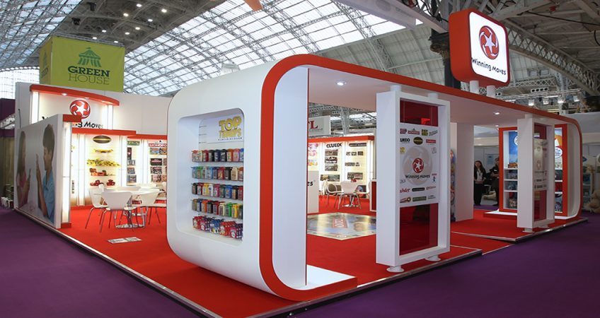 A good example of an exhibition stand