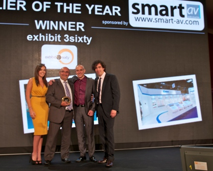 Exhibit3Sixty – AEO Excellence Awards 2012 Winners