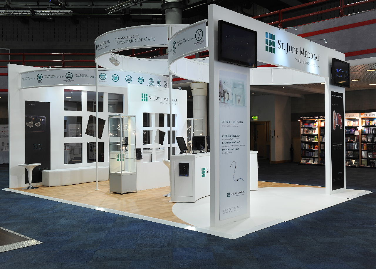 Exhibition Stand Medical : St jude medical exhibition stand at the hrc exhibit