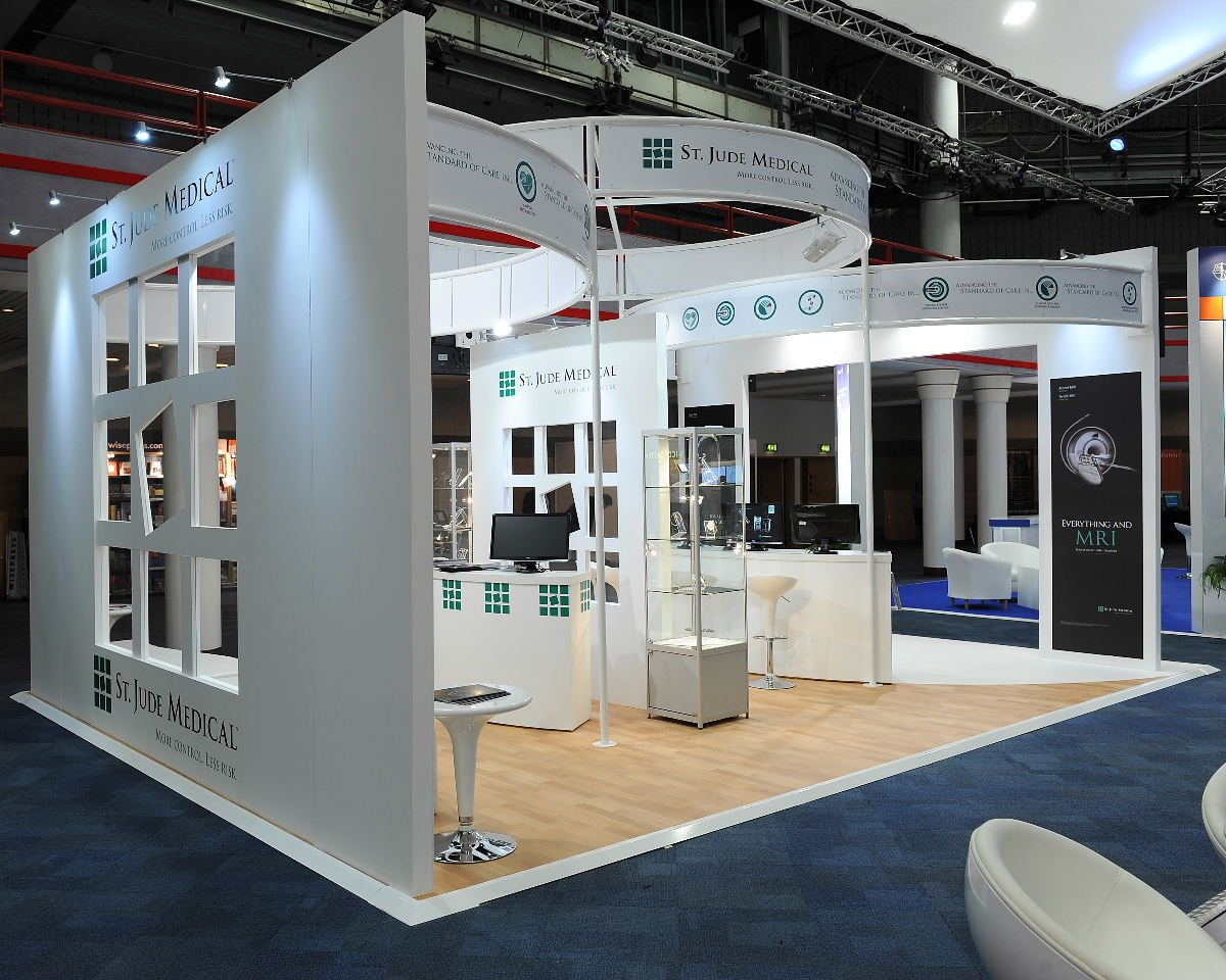 Exhibition Stand Medical : St jude medical exhibition stand at icc exhibit sixty