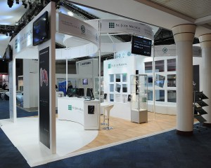 St Jude Medical Exhibition Stand at the HRC 2012