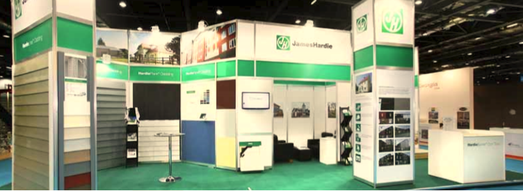 CASE STUDY – JAMES HARDIE AT ECO-BUILD 2012