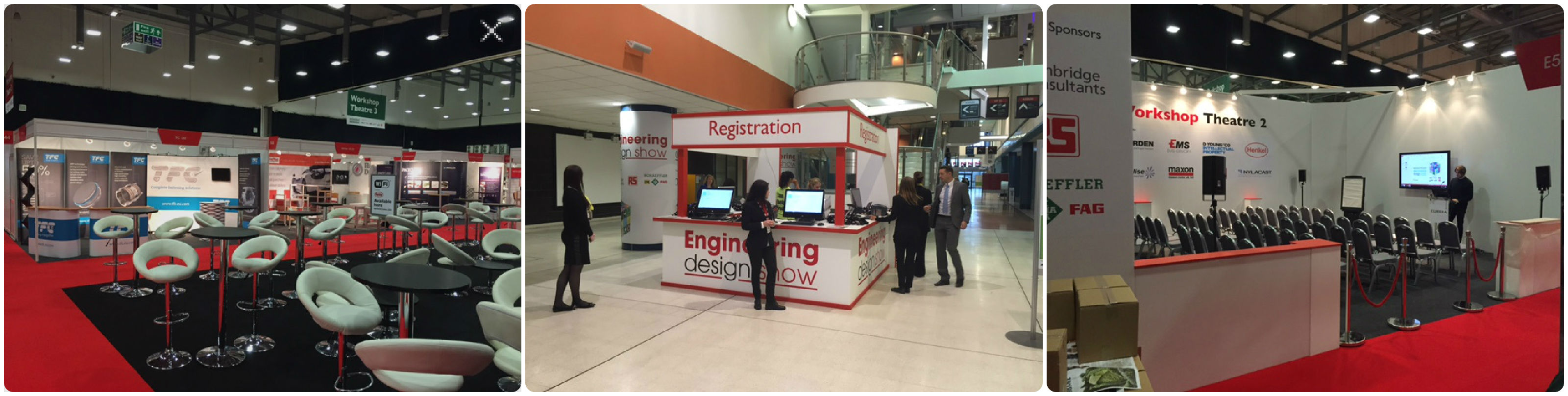 Engineering Design Show stands
