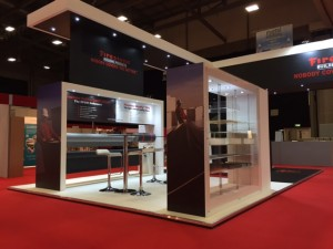 Another look at our Firestone exhibition stand