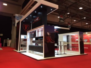Exhibition stand for Firestone