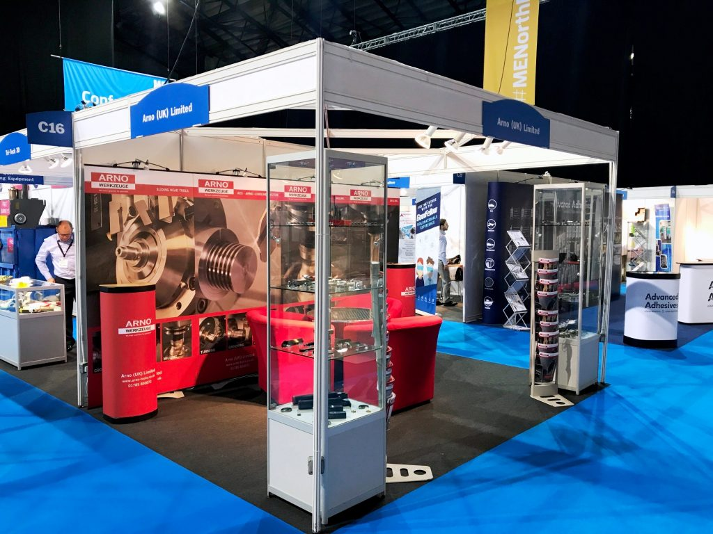 Smart exhibition stand at MENE 2017
