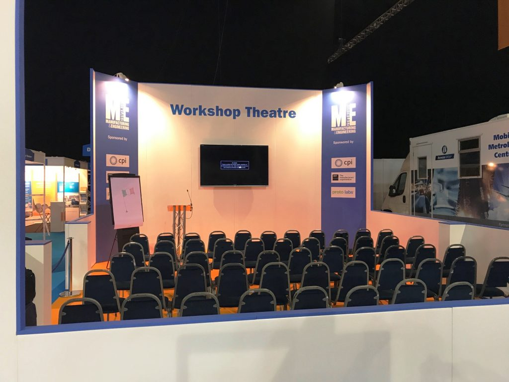 Workshop Theatre for M&E North East Show