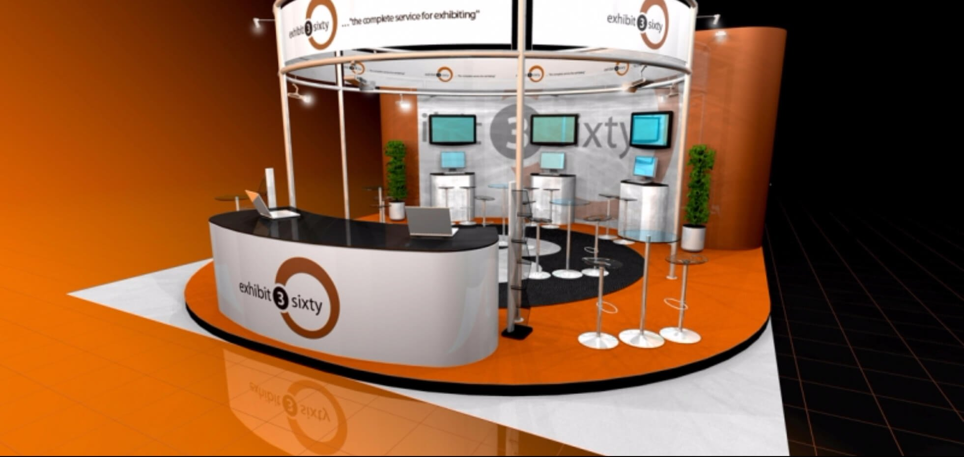 exhibition stand package | Exhibit3sixty