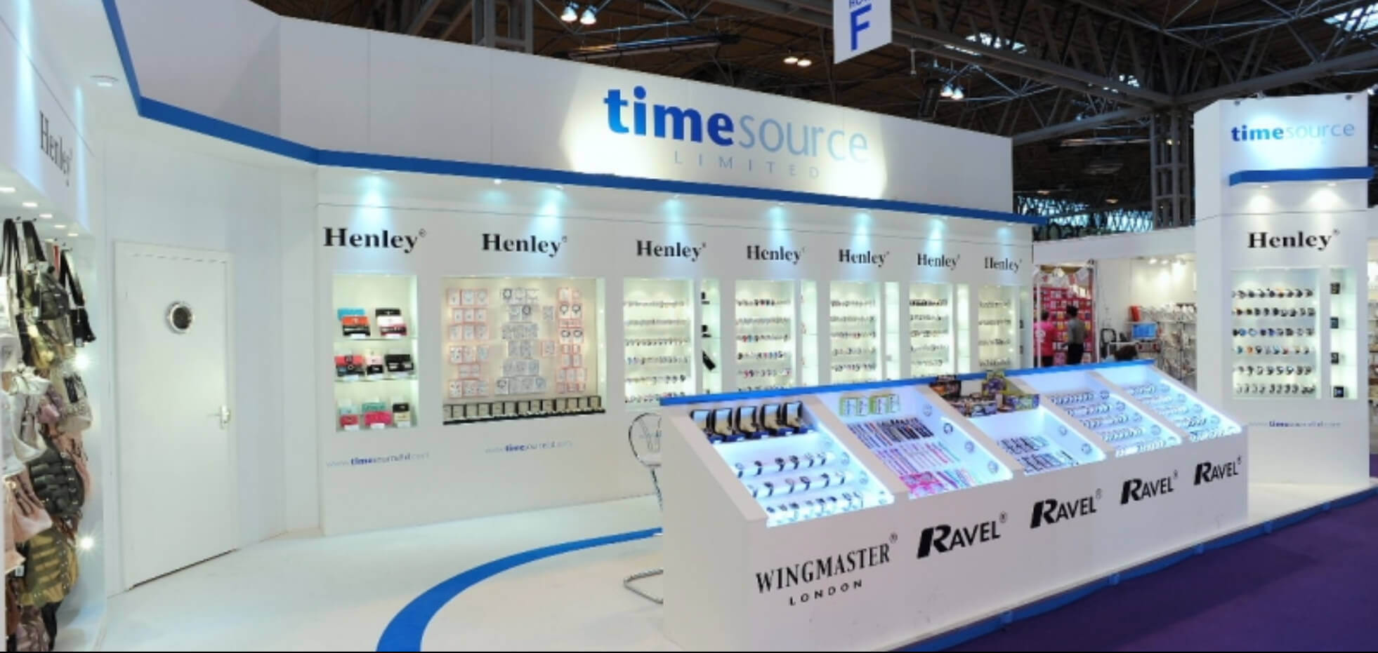 Time Source exhibition stand | Exhibit3sixty