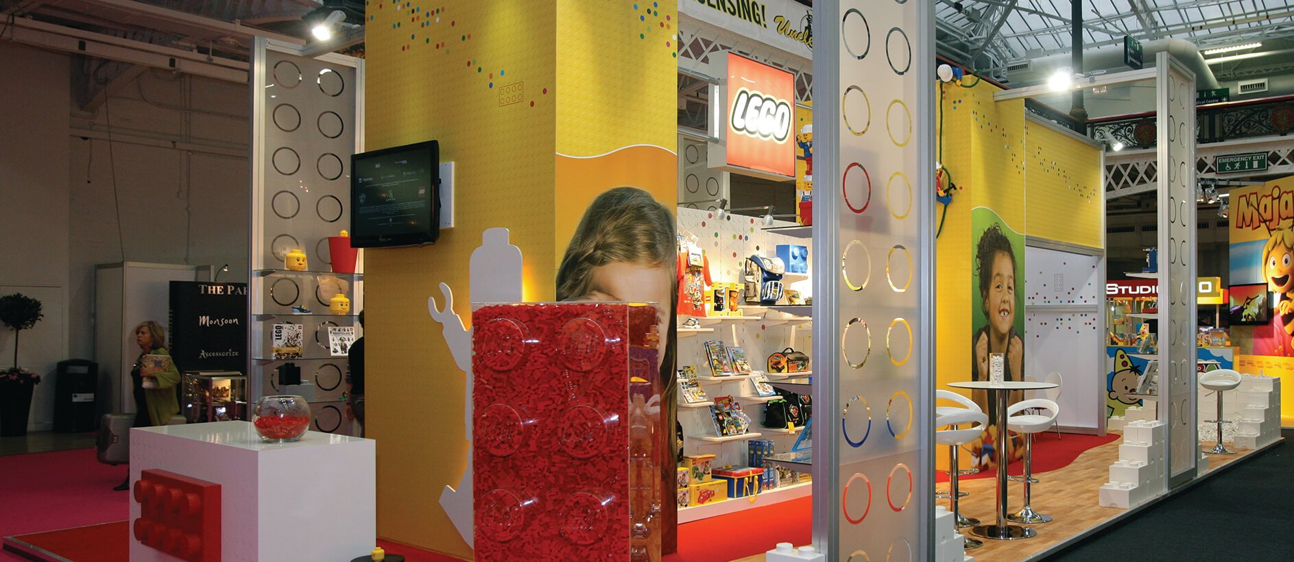 Lego Exhibition Stand 2