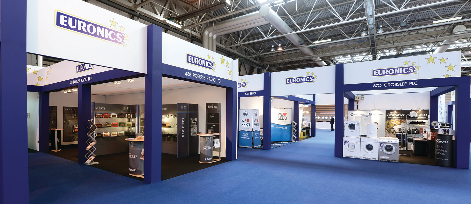 Euronics shell scheme stands