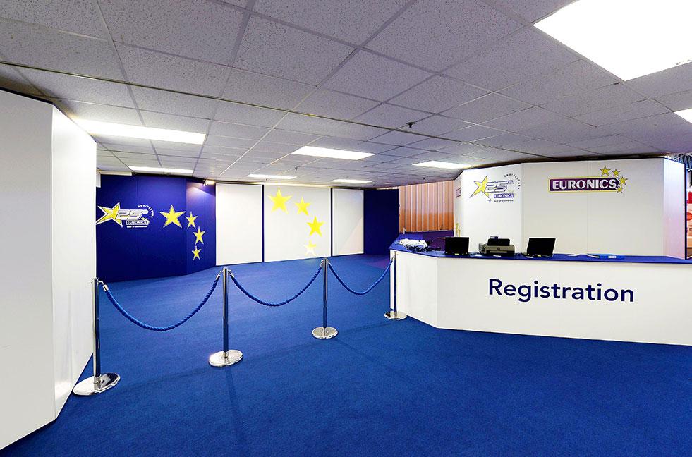 feature work registration desk