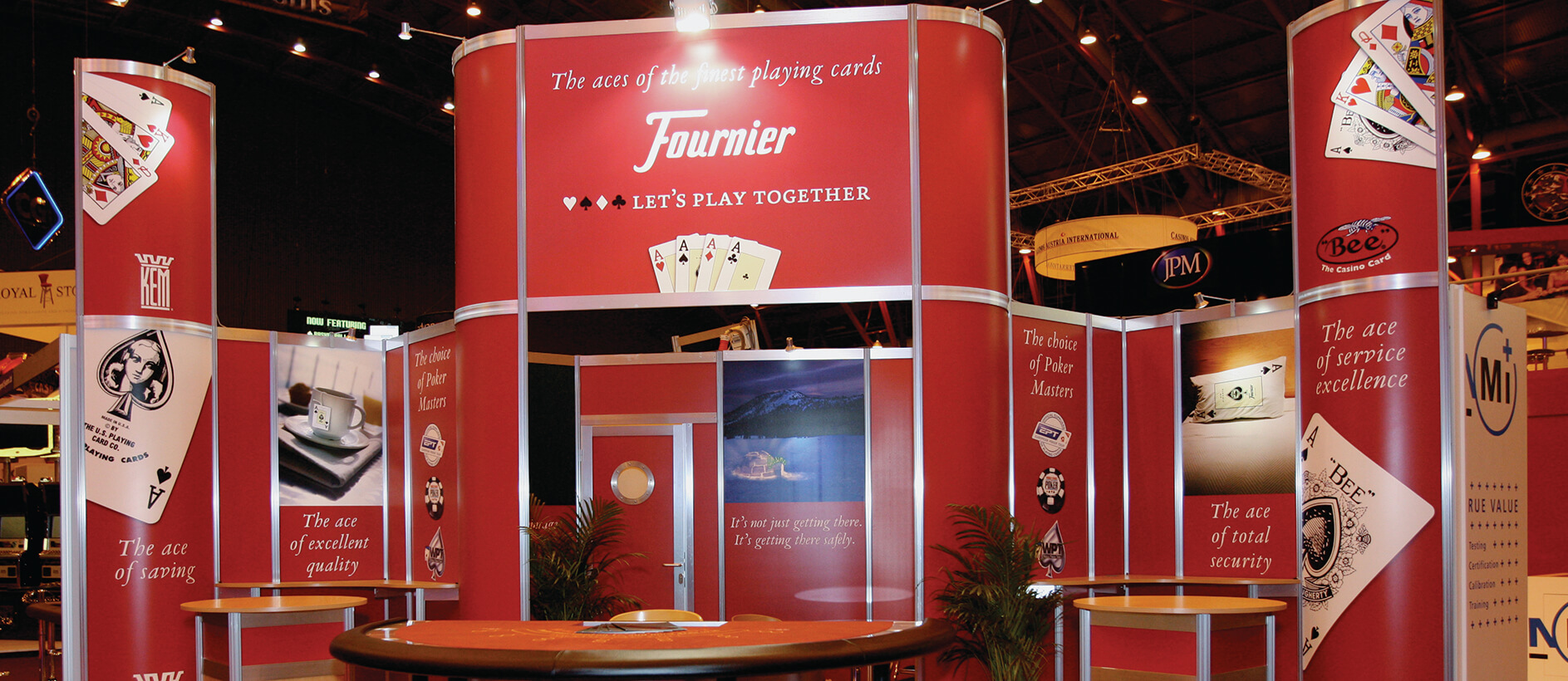 modular display for Fournier by Exhibit 3Sixty
