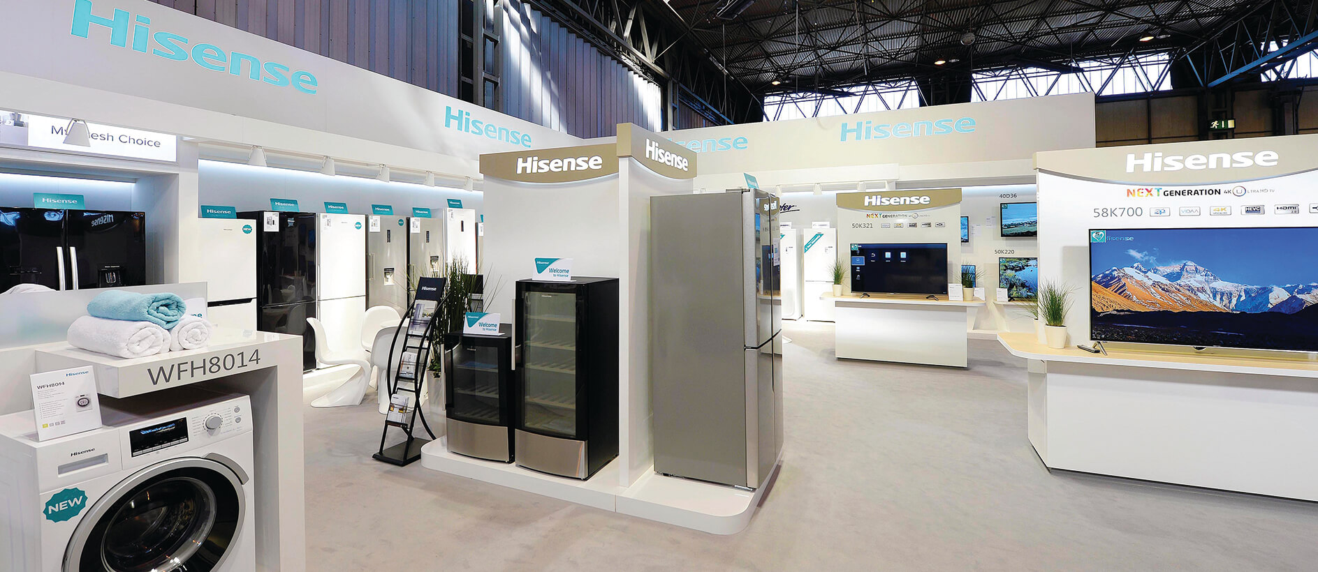 Hisense stand by Exhibit 3Sixty