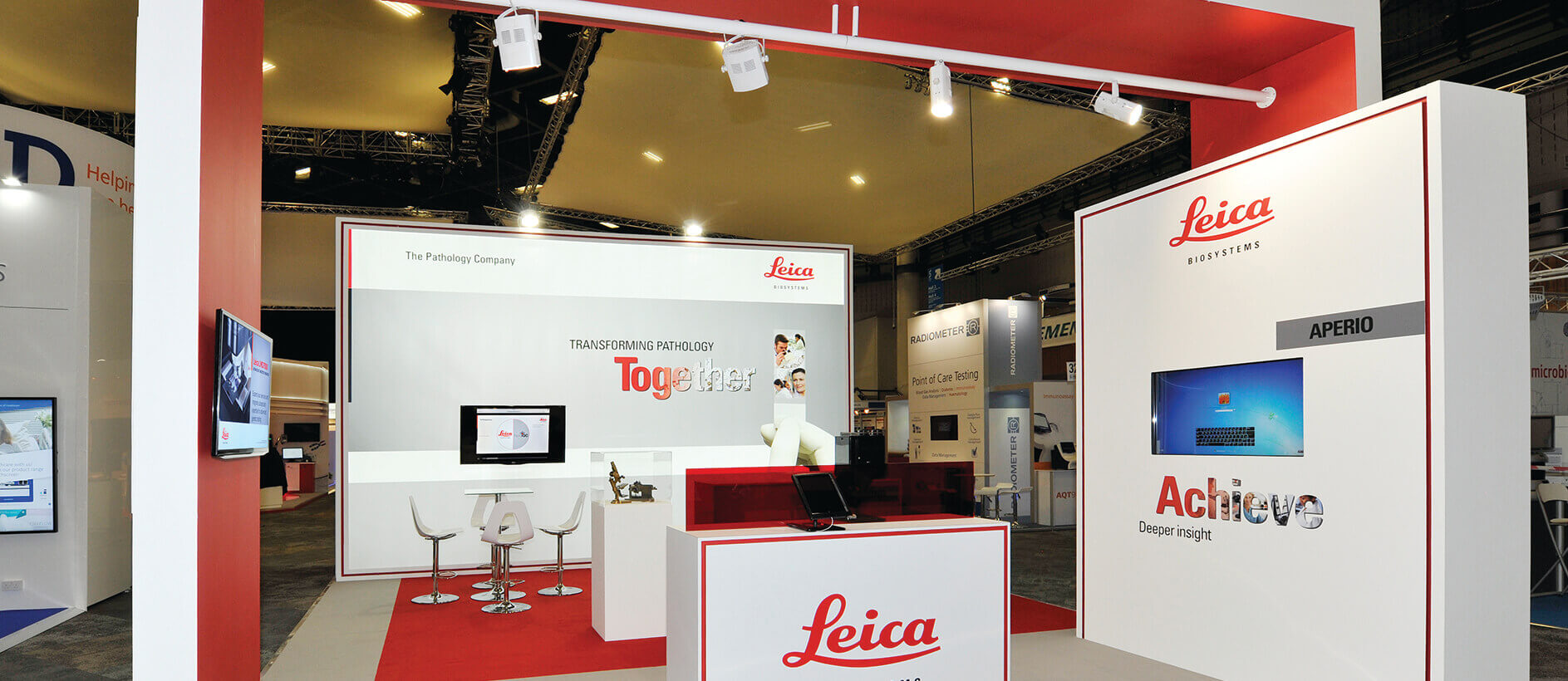 Bespoke exhibition stand for Leica by Exhibit 3Sixty