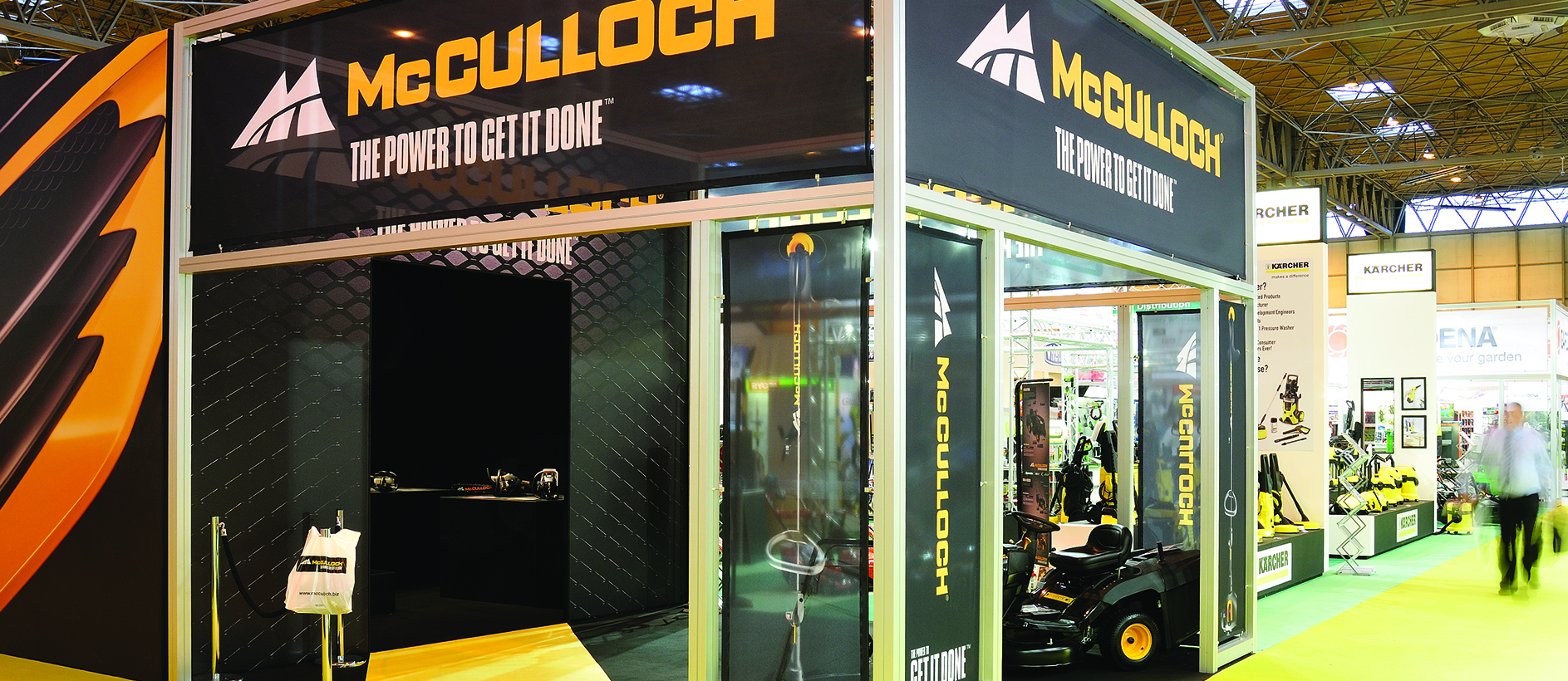 McCullock exhibition stand 5