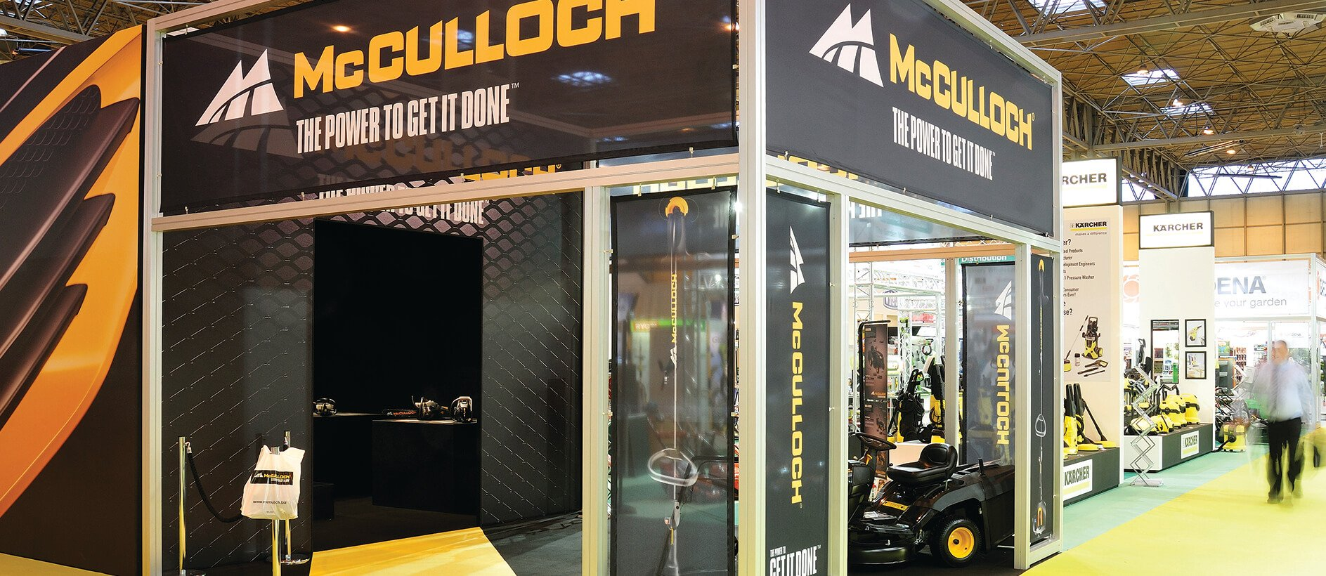 McCullock exhibition stand