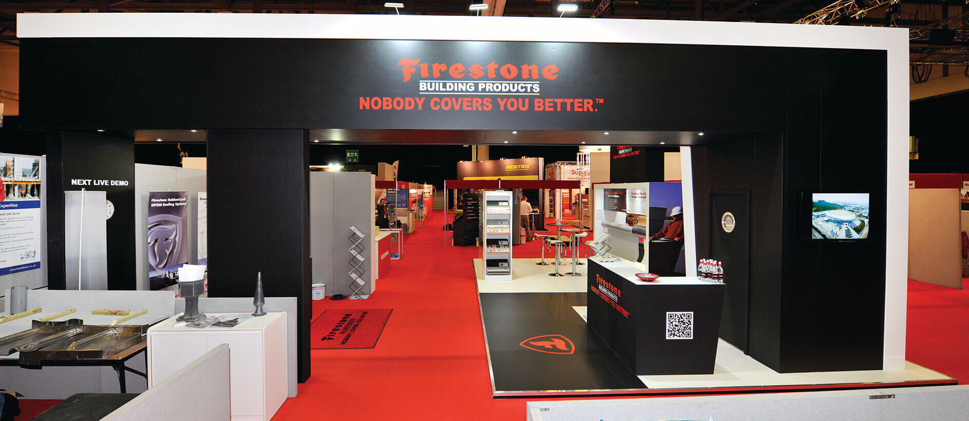Bespoke exhibition stand design by Exhibit 3Sixty