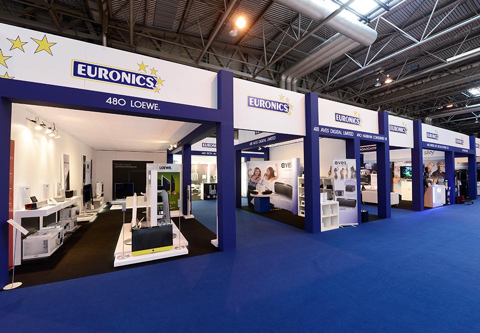 Euronics exhibition stand 12