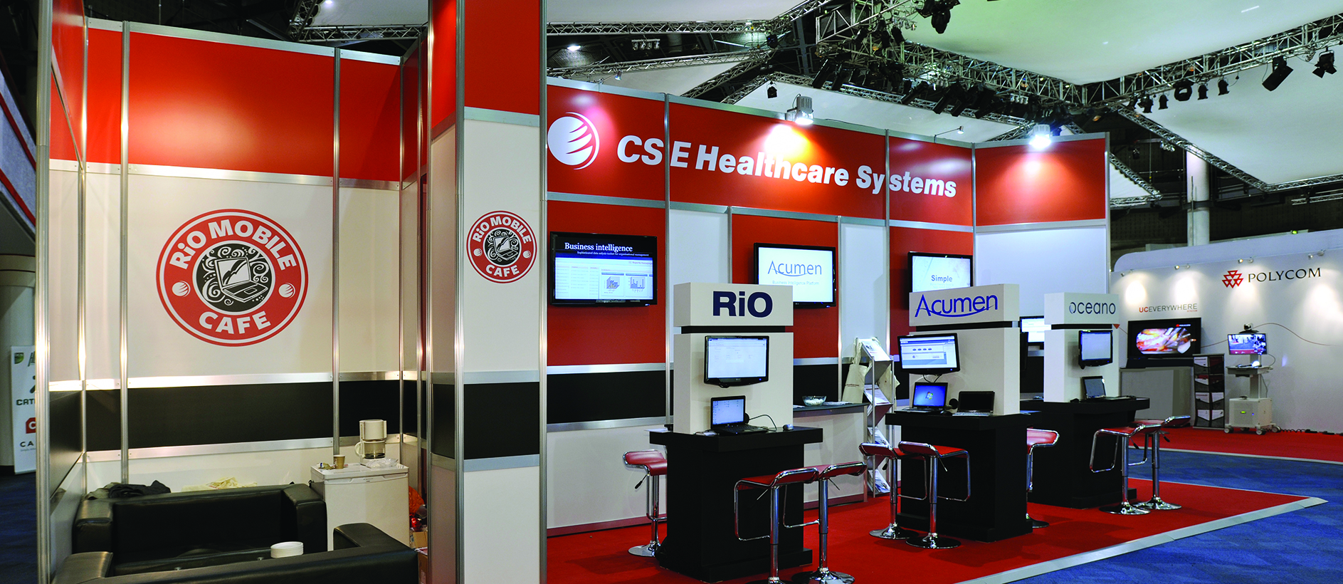 CSE Healthcare modular exhibition stand