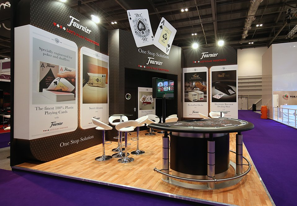 Custom exhibition stand for Fournier