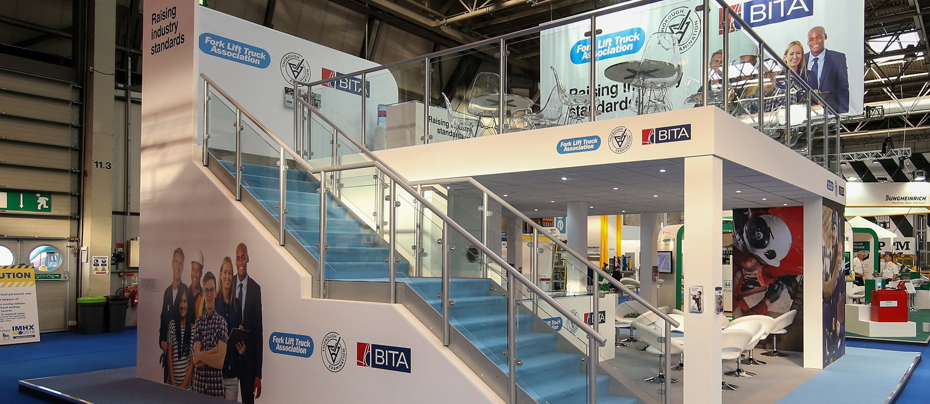 BITA exhibition stand at IMHX