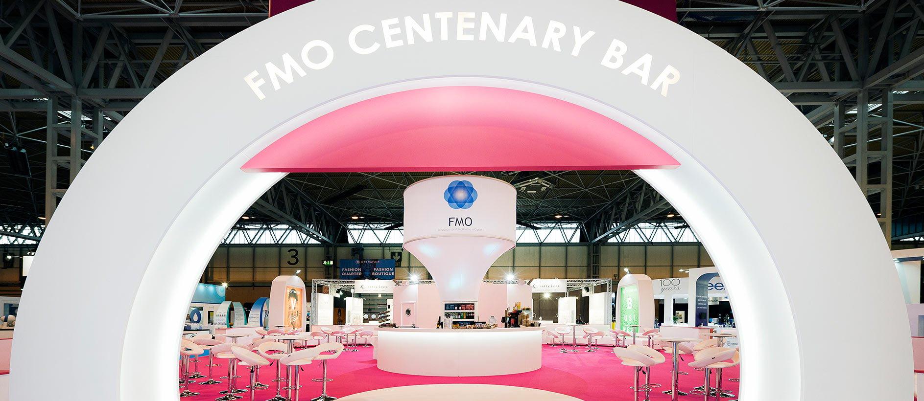 FMO Centenary Bar at Optrafair