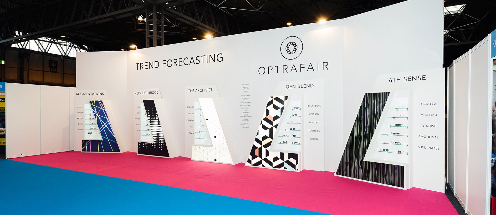 Bespoke Exhibition Display at Optrafair