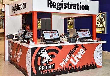 Print Live Registration Stand