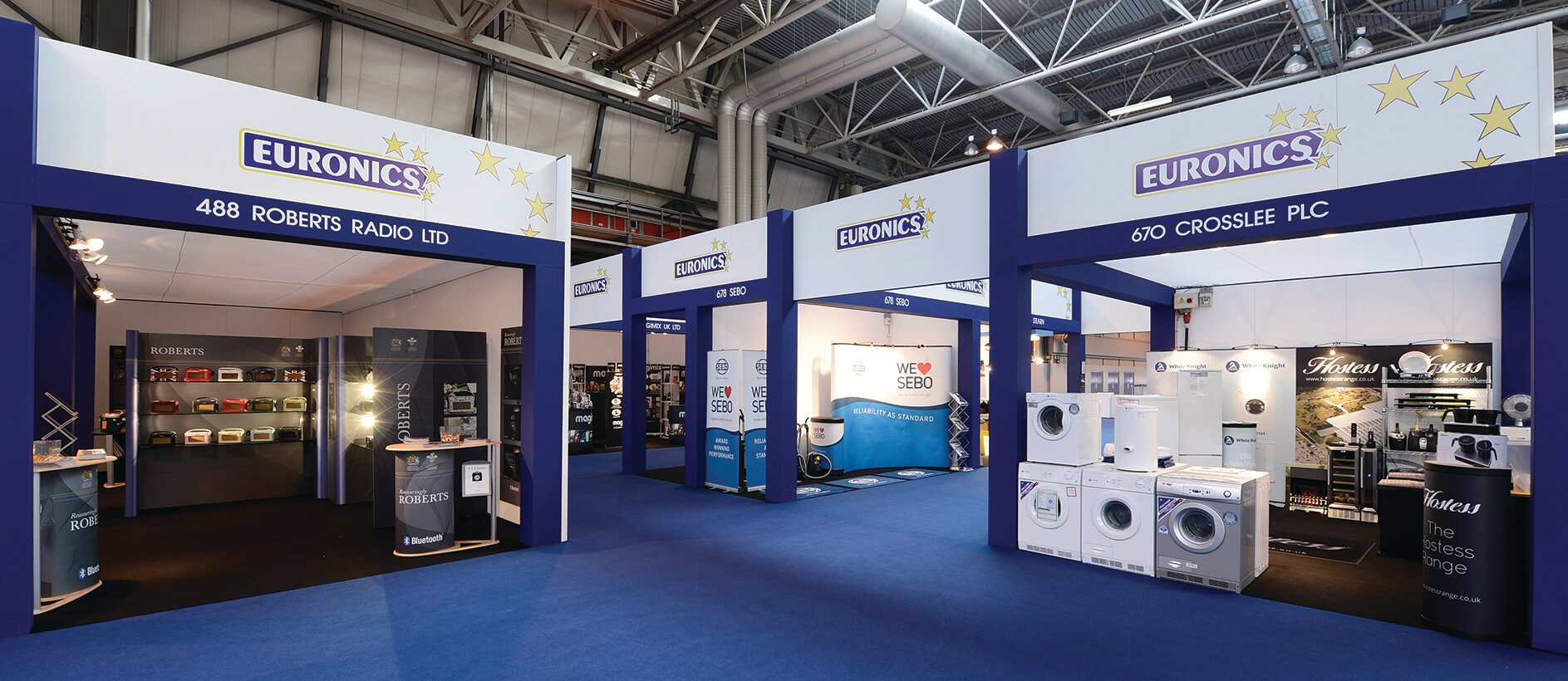 Exhibition Shell Quotes : Euronics stand exhibit sixty