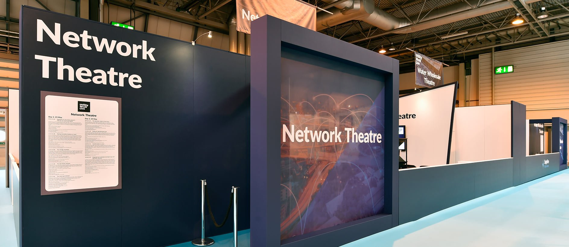 Network Theatre display at Utility Week Live