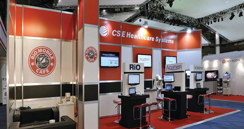 Modular stand customised for CSE
