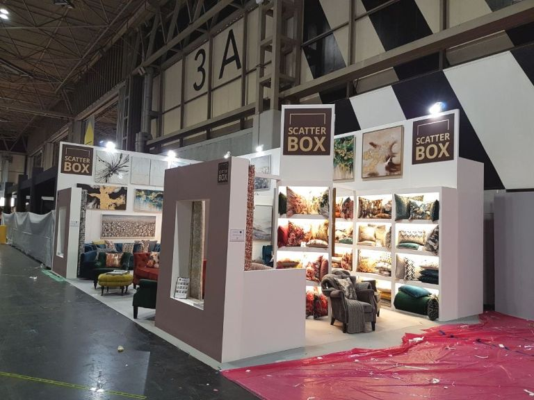 exhibition stand at the January Furniture Show 2018