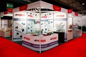 Bespoke modular trade show display