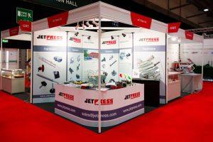 Bespoke modular trade show display