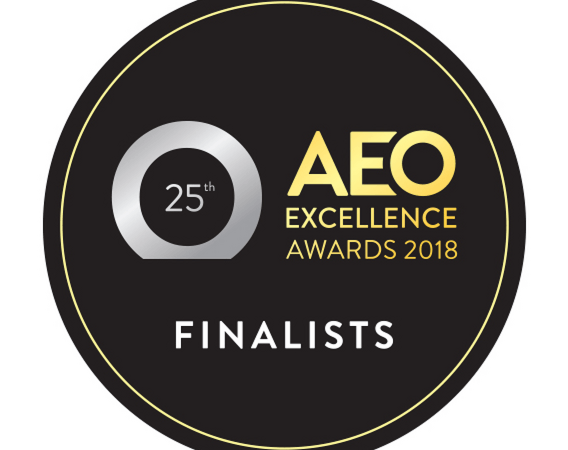 Exhibit 3Sixty are AEO Excellence Award 2018 Finalists