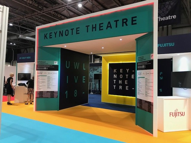 Keynote Theatre Exhibition Stand