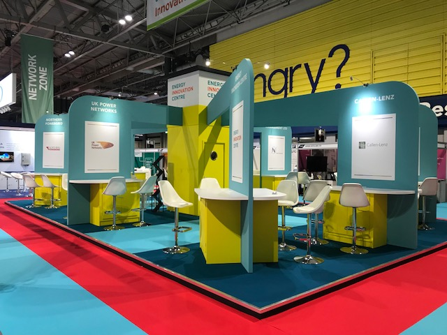 Vibrant Exhibition Stand at Utility Week Live