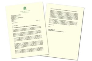 Letter from Zarah Sultana MP